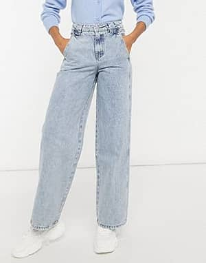Lost Ink Jeans mit hoher